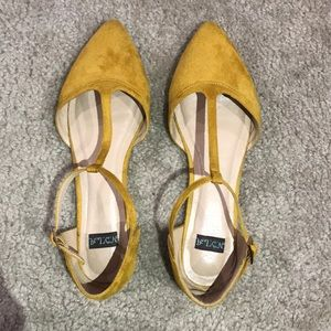 Flat shoes from Modcloth